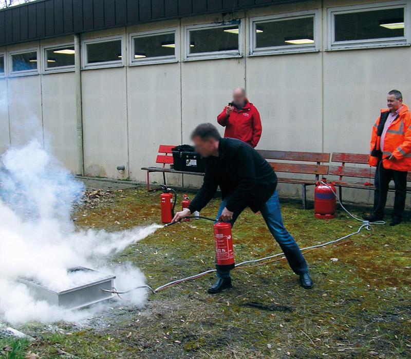 Brandschutzschulungen